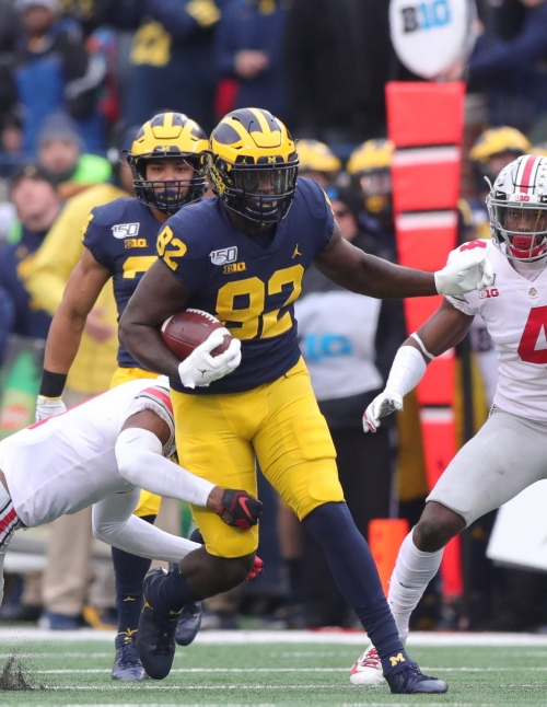 Michigan football falls down to 18th in USA TODAY coaches poll; Alabama down to ninth