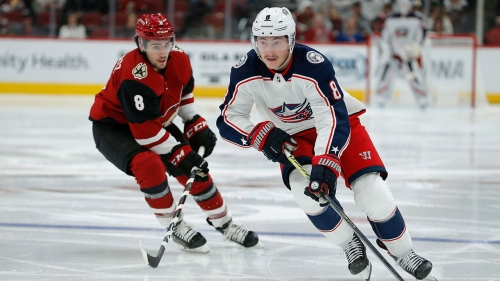 Blue Jackets' Zach Werenski to miss four weeks with shoulder injury