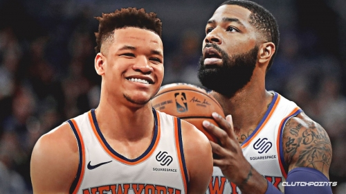 Knicks' Kevin Knox in starting lineup vs. Celtics with Marcus Morris sidelined