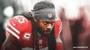 49ers' Richard Sherman limps to locker room after loss vs. Ravens