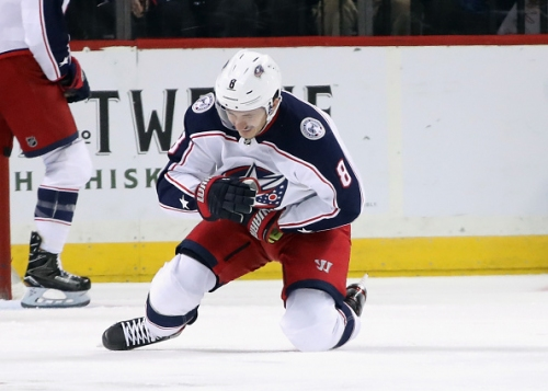 Columbus Blue Jackets Defenceman Zach Werenski Injured