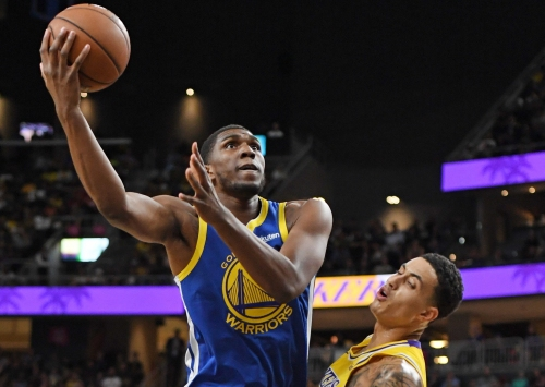 Warriors' Kevon Looney scheduled to play Monday against Hawks