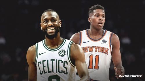 Knicks guard Frank Ntilikina ruled out for remainder of game vs. Celtics with upper back soreness