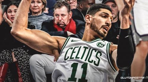 Celtics' Enes Kanter defends James Dolan, says it's 'terrible' Knicks fans blame him for everything