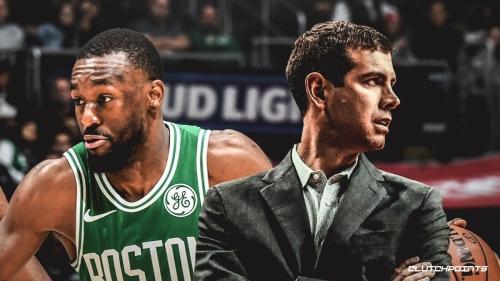 Celtics coach Brad Stevens calls Kemba Walker 'one of the best leaders' he has been around
