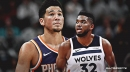 Karl-Anthony Towns responds to question about when Devin Booker will join Timberwolves