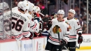 Blackhawks to play with short bench Monday vs Blues