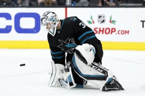 Martin Jones named NHL's Third Star of the Week