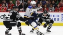 Blues blank Blackhawks to stay hot on the road