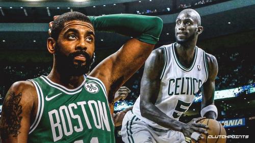 Kevin Garnett claims Kyrie Irving didn't have 'cojones' for Boston