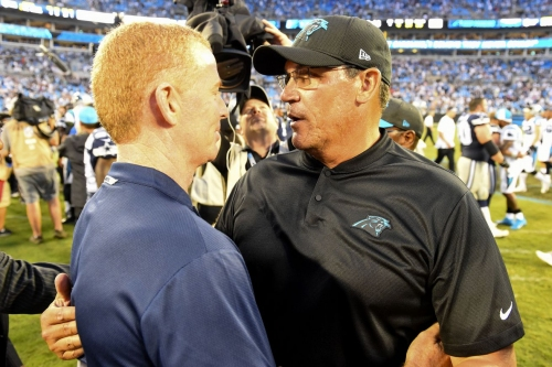 Carolina Panthers fired Ron Rivera who has almost the exact same career résumé as Jason Garrett (with one big exception)