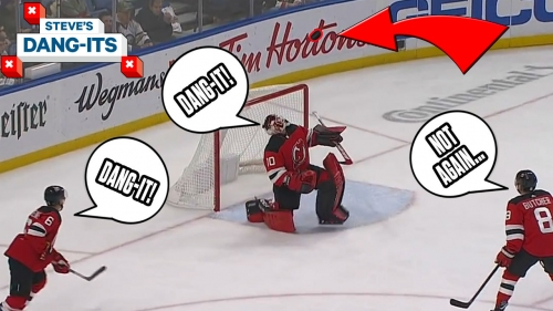 Steve's Dang-Its: HEADS UP! NHL Worst Plays of The Week