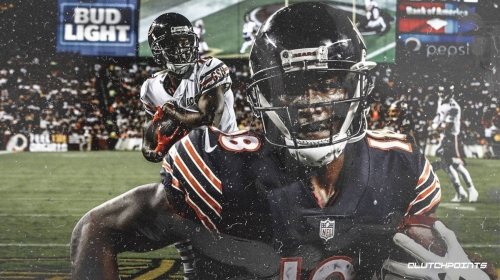 Bears WR Taylor Gabriel has been ruled out for Thursday Night Football
