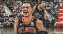 Annoyed Trae Young claims only 'retirement' will stop comparisons to Luka Doncic