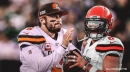 Browns QB Baker Mayfield says 'mama didn't raise a wuss' when talking about hand injury