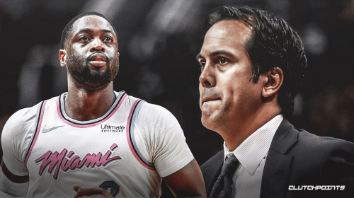 Dwyane Wade on Heat's Erik Spoelstra missing game for birth of son — 'Isn't this load management!?'