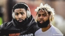 Browns WR Odell Beckham Jr. was a limited participant in Wednesday's practice