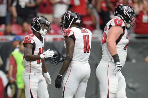 Falcons injury report: Julio Jones, Calvin Ridley, Austin Hooper limited on Wednesday