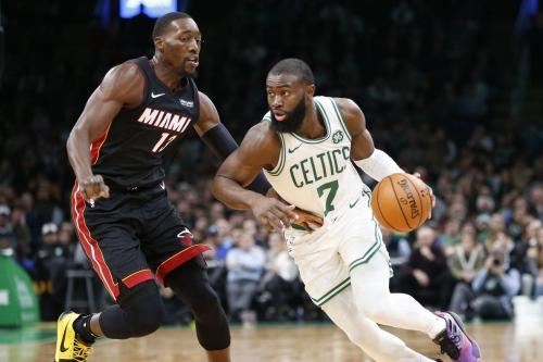 Celtics give Miami a heat check 112-93