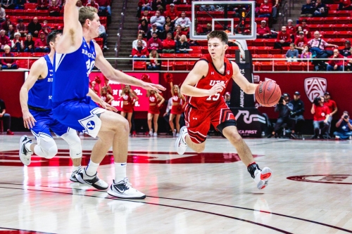 Just like football: Runnin' Utes top BYU in OT 102-95