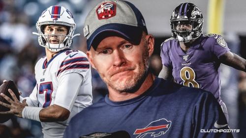 Sean McDermott defends Bills picking Josh Allen over Lamar Jackson