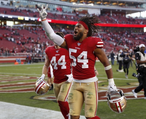 49ers' Fred Warner named NFC defensive player of the month