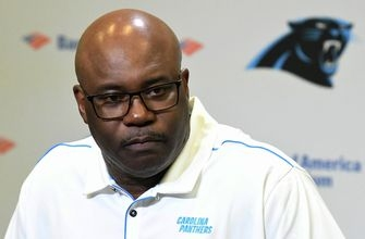 Interim coach Fewell to lead Panthers against Falcons