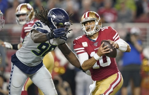 Who should the Seahawks root for when the 49ers play the Saints? And two other things to watch in the NFL this weekend