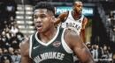 Giannis Antetokounmpo says Khris Middleton having his back vs. Pistons 'means a lot'