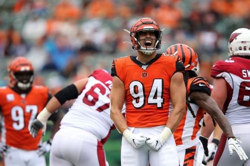 Bengals vs. Browns injury report: Sam Hubbard misses second straight practice, Cethan Carter returns