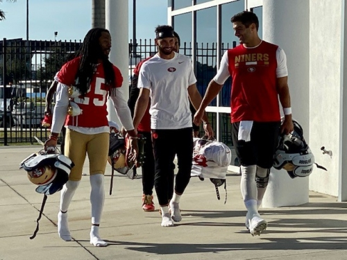 49ers players on suspended Tim Ryan: 'We've got your back'