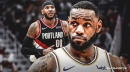 Lakers' LeBron James 'fu**ing proud' of Blazers' Carmelo Anthony for winning Player of the Week