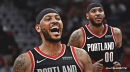 Report: Blazers' Carmelo Anthony's contract to be fully guaranteed for remainder of the season