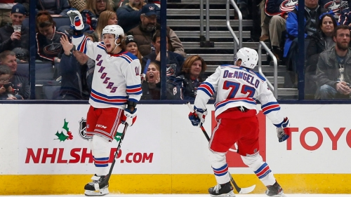Artemi Panarin leads Rangers past Blue Jackets in return to Columbus