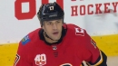 Milan Lucic scores first goal with Calgary Flames