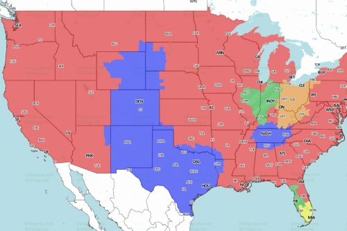 Broncos at Texans: TV broadcast map for Week 14