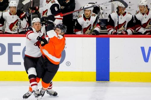 Slap Shots: Flyers vs Coyotes