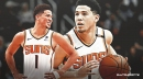 Suns' Devin Booker hopes Fortnite player pays bet of shaving his left eyebrow after dropping 44 points vs. Pelicans