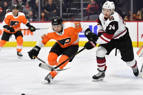 Coyotes 3, Flyers 1: No longer streaking
