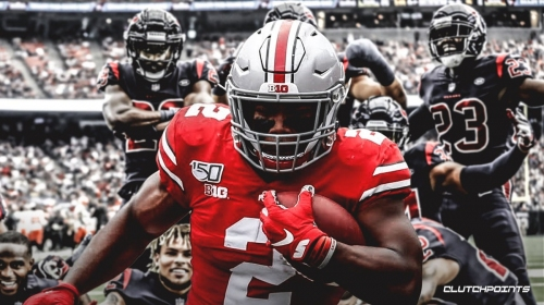 The Texans should be considering Ohio State RB J.K. Dobbins