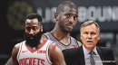Rockets' James Harden told Mike D'Antoni 'we've got to get Chris (Paul) out of here' during final playoff loss