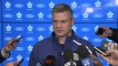 Keefe on why Pontus Aberg has earned chance with Maple Leafs