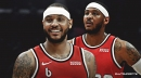 Blazers' Carmelo Anthony reveals newfound joy for the game comes from freedom
