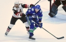 As injured players return, Canucks send down Nikolay Goldobin