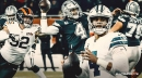 Cowboys' Dak Prescott injured right index finger, sprained left hand against the Bears