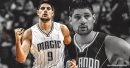 Magic center Nikola Vucevic has started to do some limited running on the court