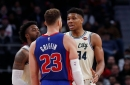 Detroit Pistons' Dwane Casey cringes at 'dirty' play claim from Giannis Antetokounmpo