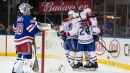 Thompson scores late in third period, Canadiens beat Rangers