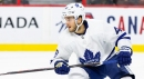 Aberg hopes his A-game translates after surprise call-up from Leafs with Johnsson down