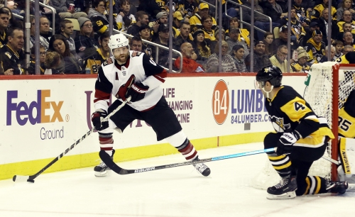 Coyotes fall to Penguins in Phil Kessel's return to Pittsburgh
